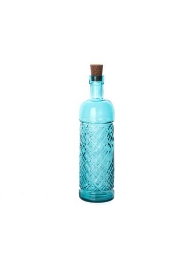 San Miguel El Mono Yağ Şişesi 500 Ml Mavi Mavi